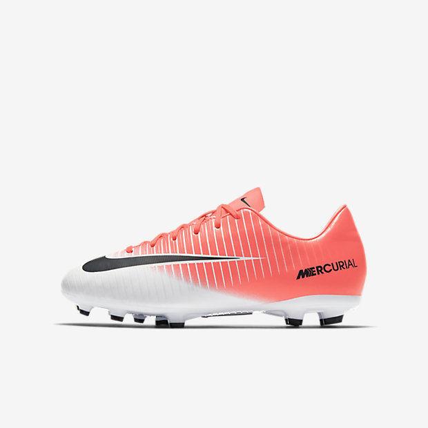 wyprzedaż w sprzedaży sportowa odzież sportowa niskie ceny Korki dla dzieci Nike Mercurial JR. VICTORY XI FG (831945-601)