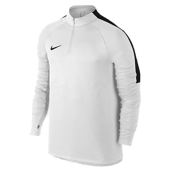 Męska treningowa bluza Nike Squad Dril Top z krótkim zamkiem (807063 100)